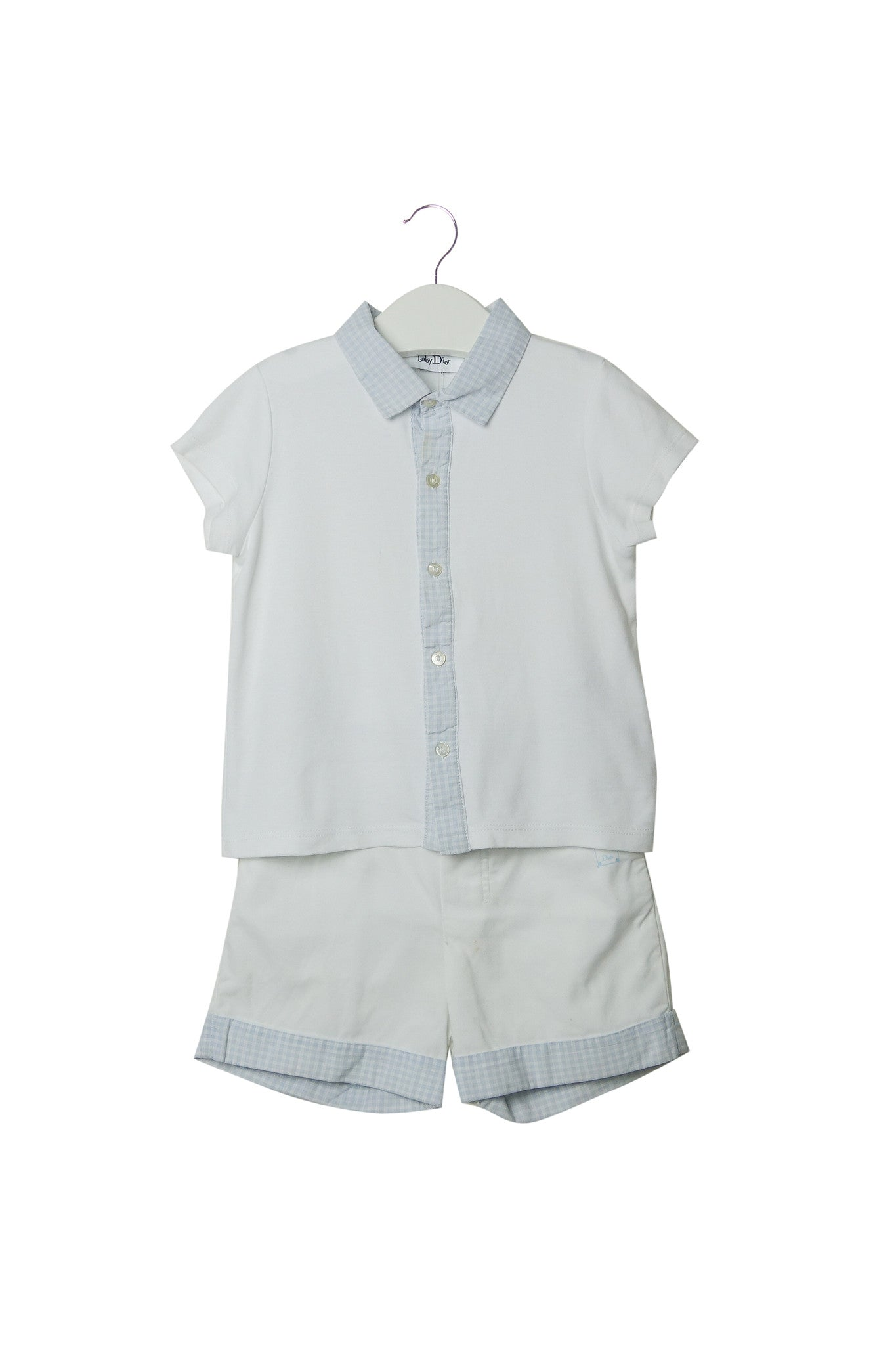 10002878 Dior Kids~Top and Shorts 2T at Retykle