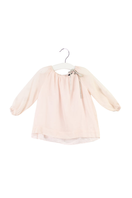 10031929 Velveteen Baby~Silk Top 18M at Retykle