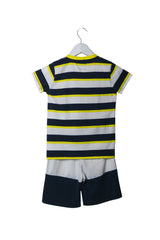 10002975 Armani Kids~T-Shirt and Shorts 4T at Retykle