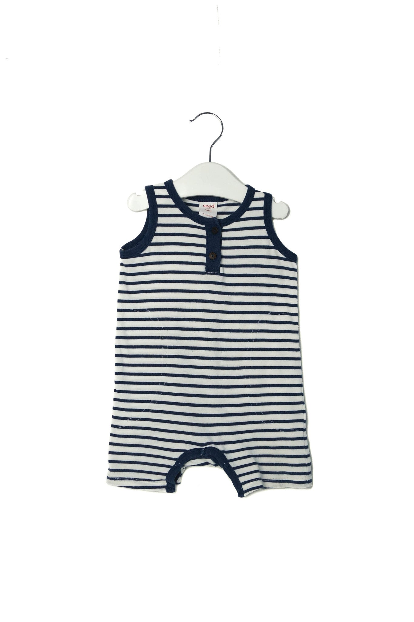10003210 Seed Baby~Romper 6-12M at Retykle