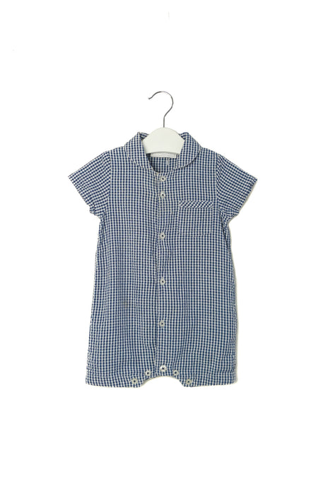 10003215 The Little White Company Baby~Romper 6-9M at Retykle