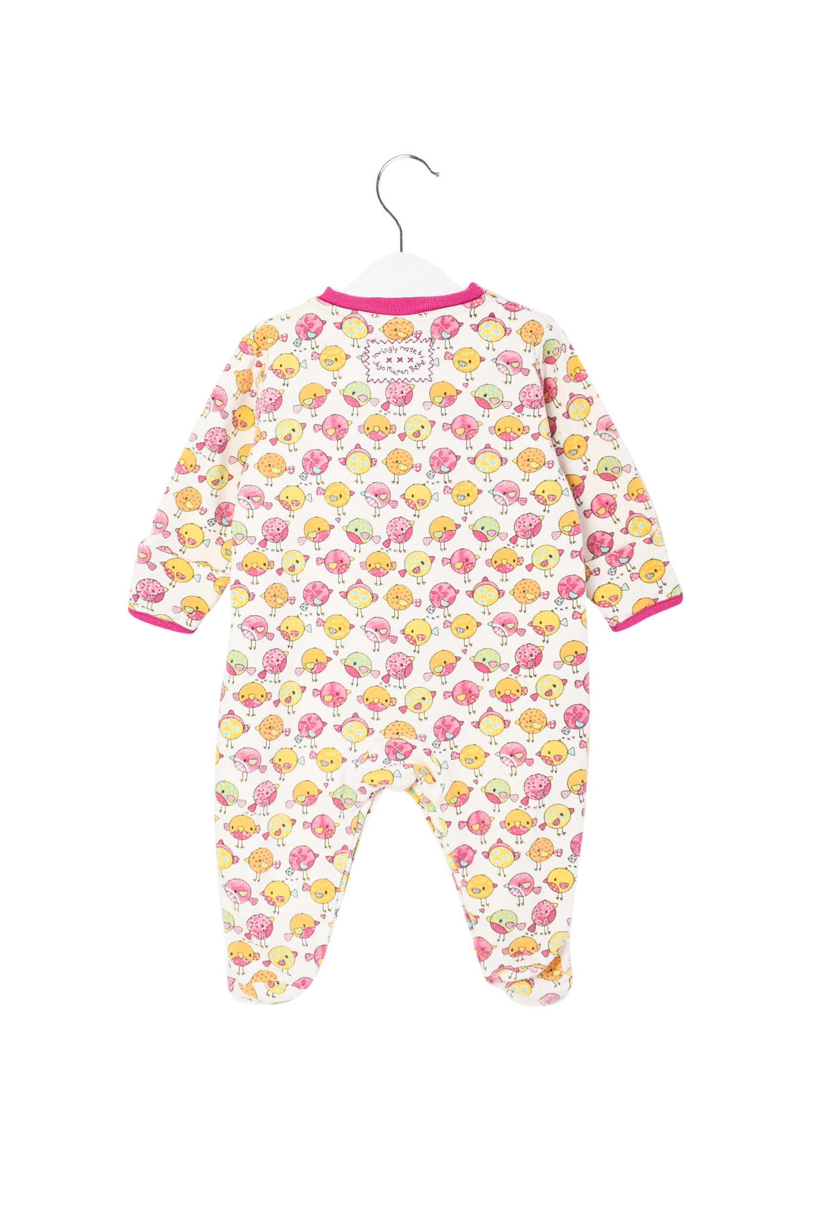 10003703 Jojo Maman Bebe Baby~Jumpsuit 3-6M at Retykle