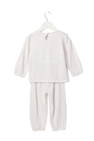 10004001 The Little White Company Baby~Pyjamas 18-24M at Retykle