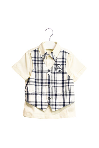 10018835 Nicholas & Bears Baby~Polo and Pants 12M at Retykle