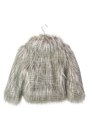 10005612 Bardot Junior Kids~Fur Jacket 4T at Retykle