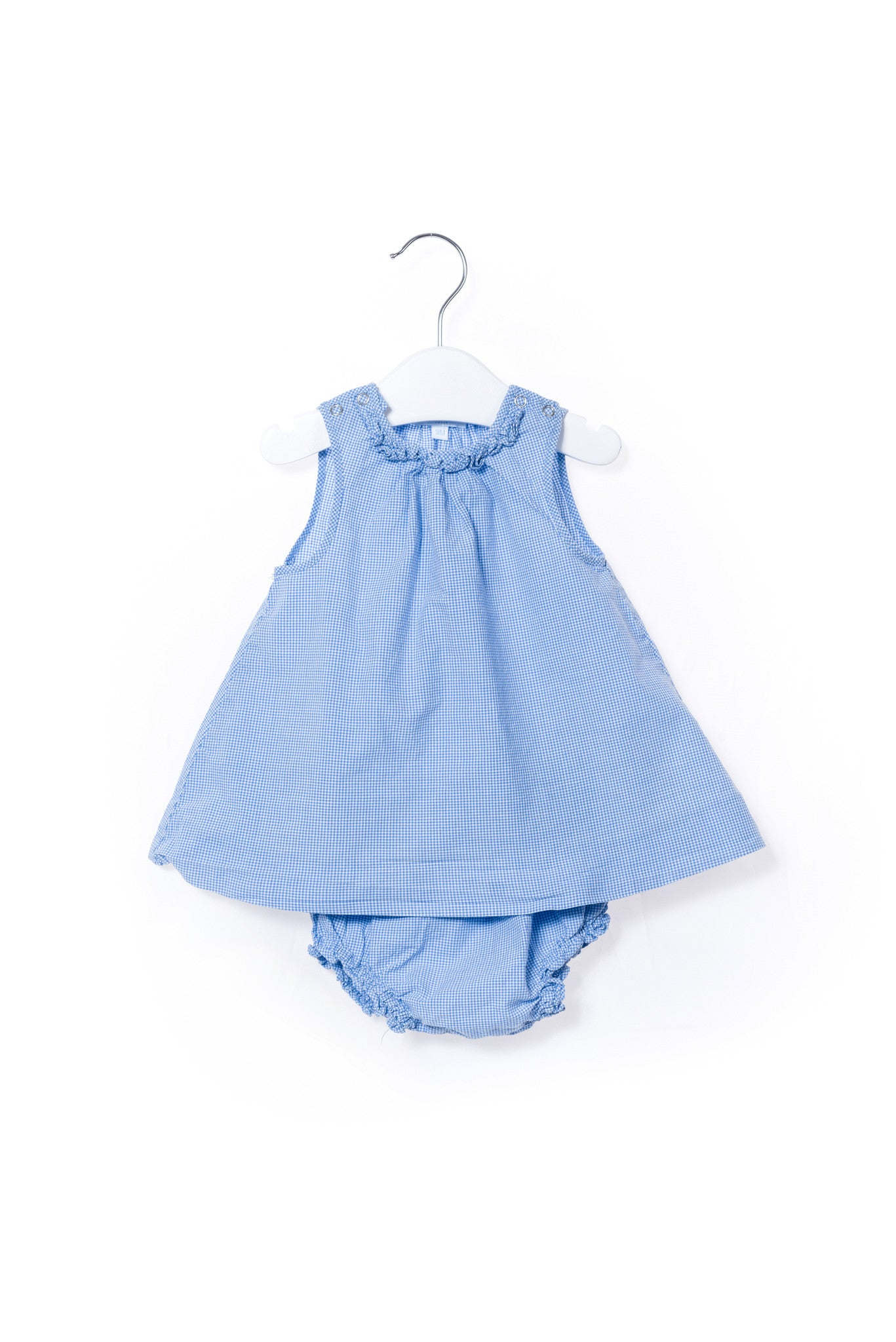 10001219 Jacadi Baby~Dress and Bloomer 0-3M at Retykle