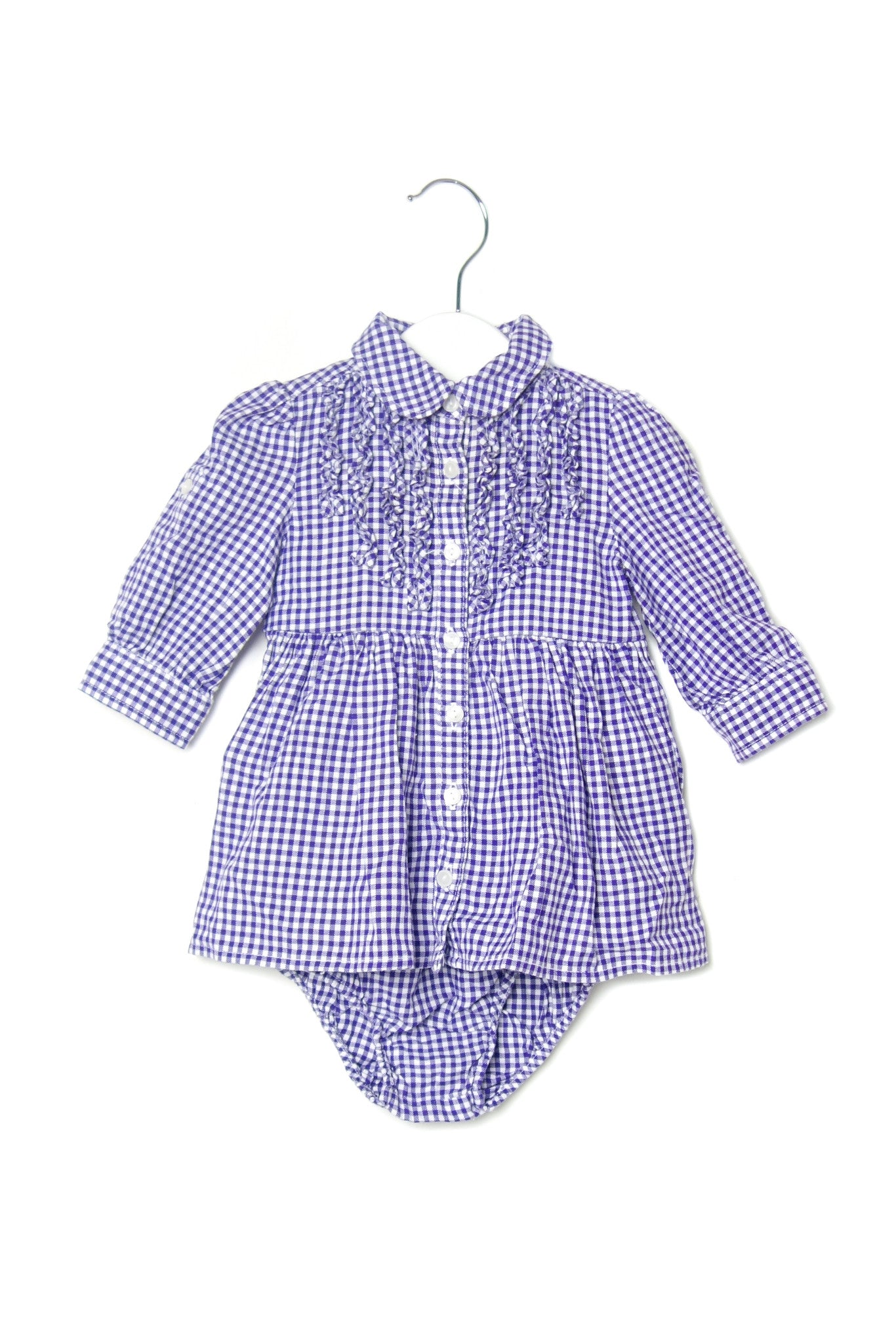 10001954 Ralph Lauren Baby~Dress and Bloomer 3M at Retykle