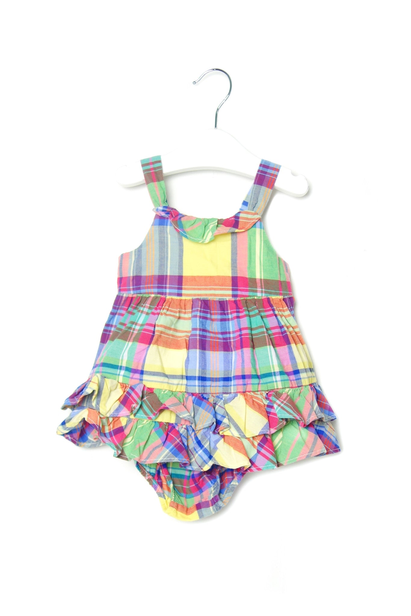 10001955 Ralph Lauren Baby~Dress and Bloomer 3M at Retykle