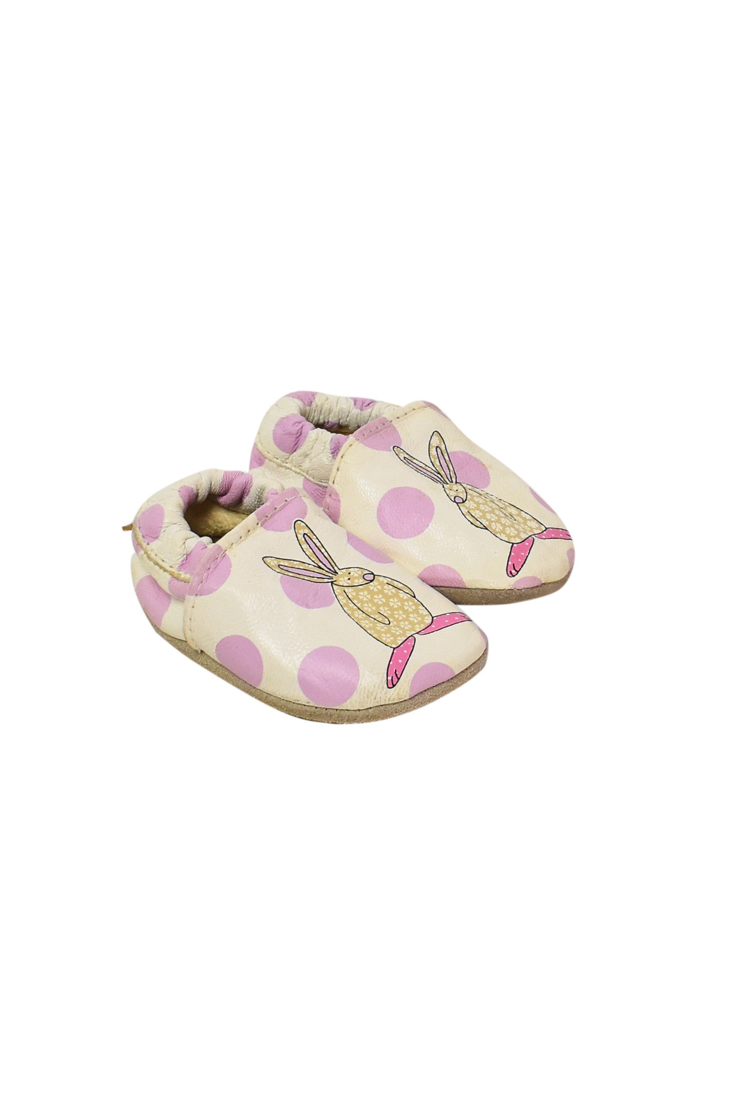 10003798 Rufus Rabbit Baby~Shoes 6-12M at Retykle