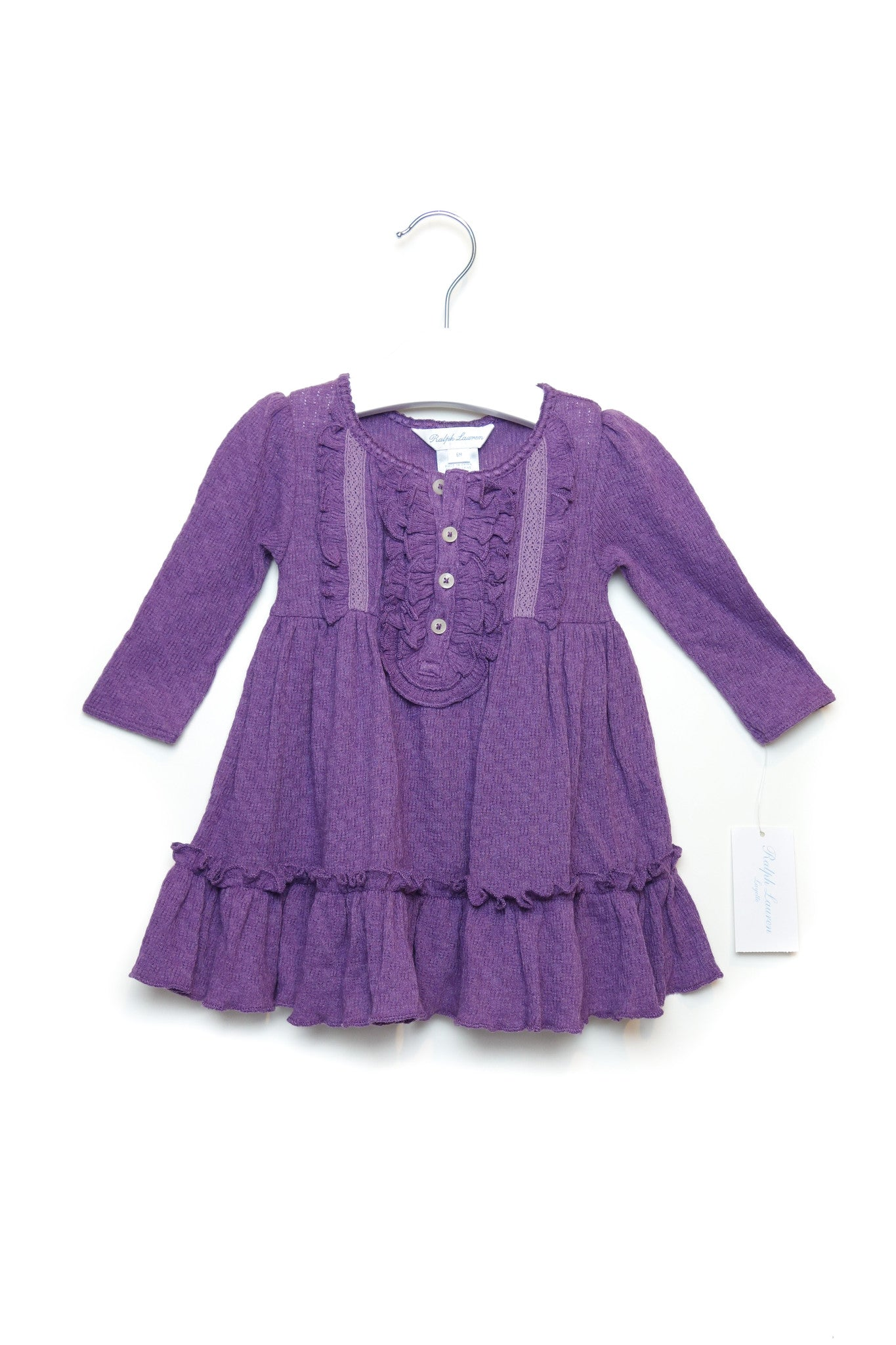 10001461 Ralph Lauren Baby~Dress and Bloomer 6M at Retykle