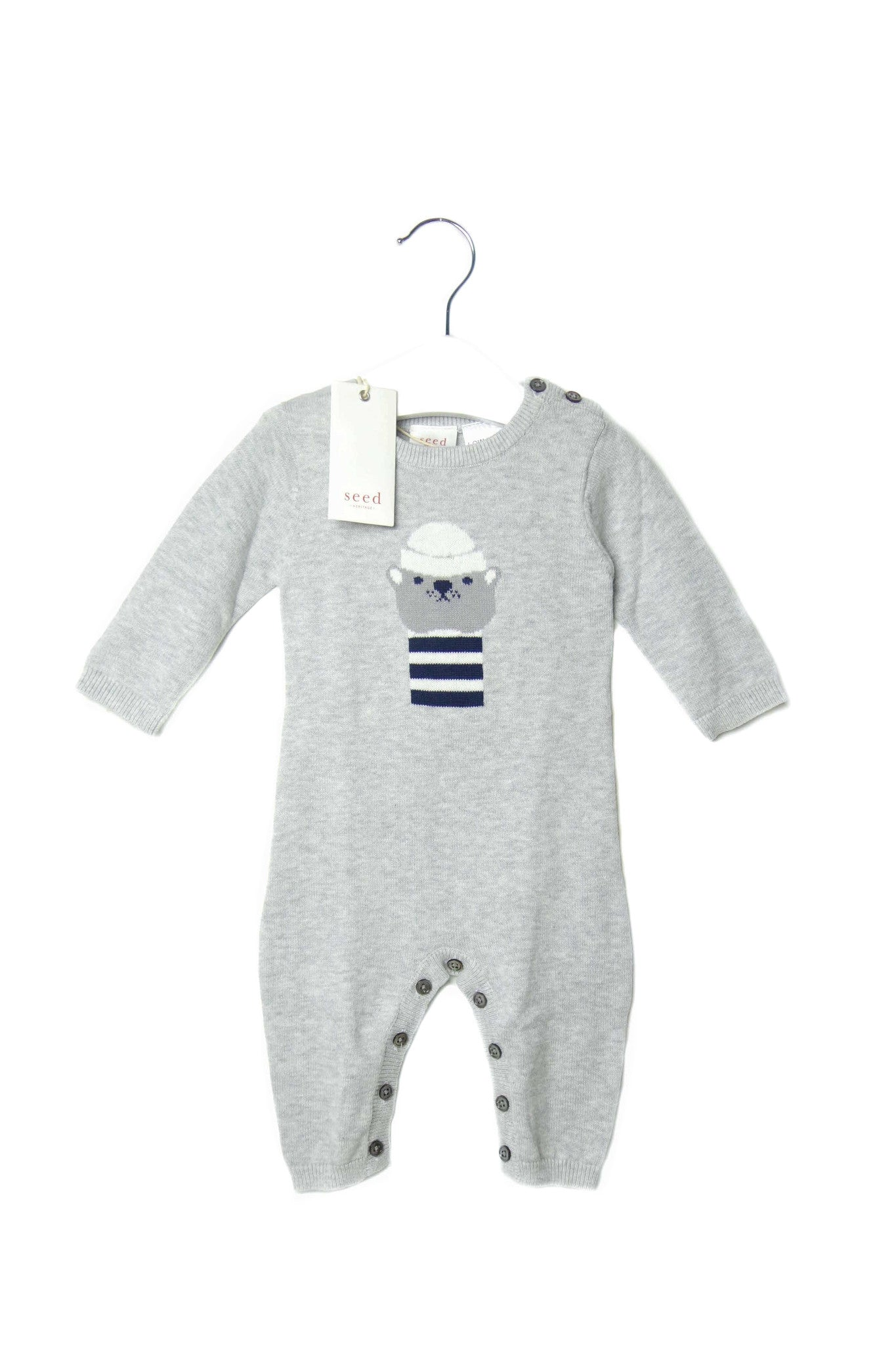 10001385 Seed Baby~Jumpsuit 0-3M at Retykle