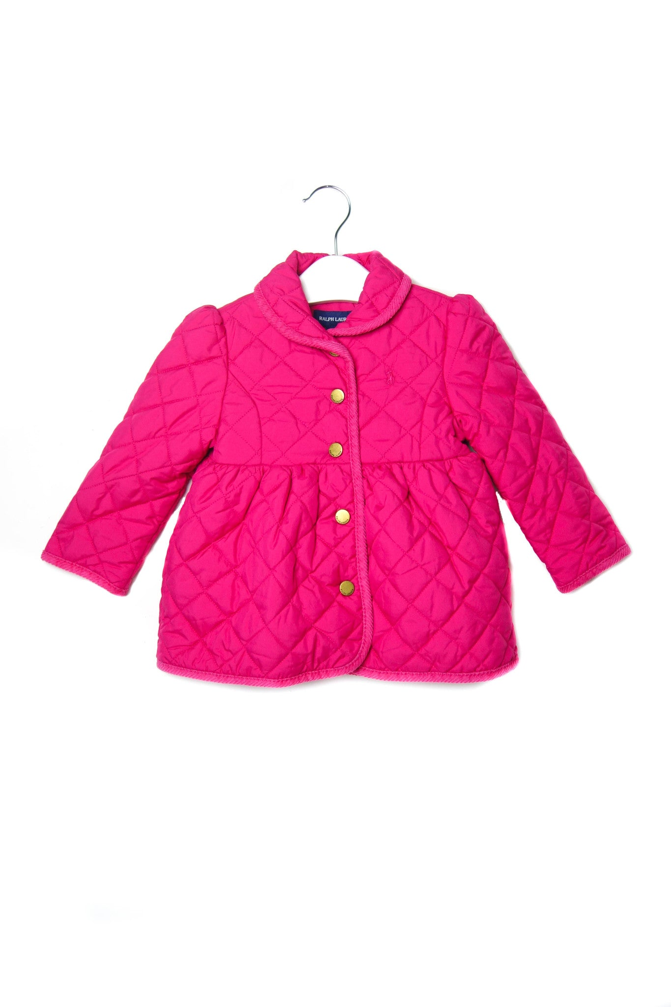 10001439BG Ralph Lauren Baby~Quilted Jacket 18M at Retykle