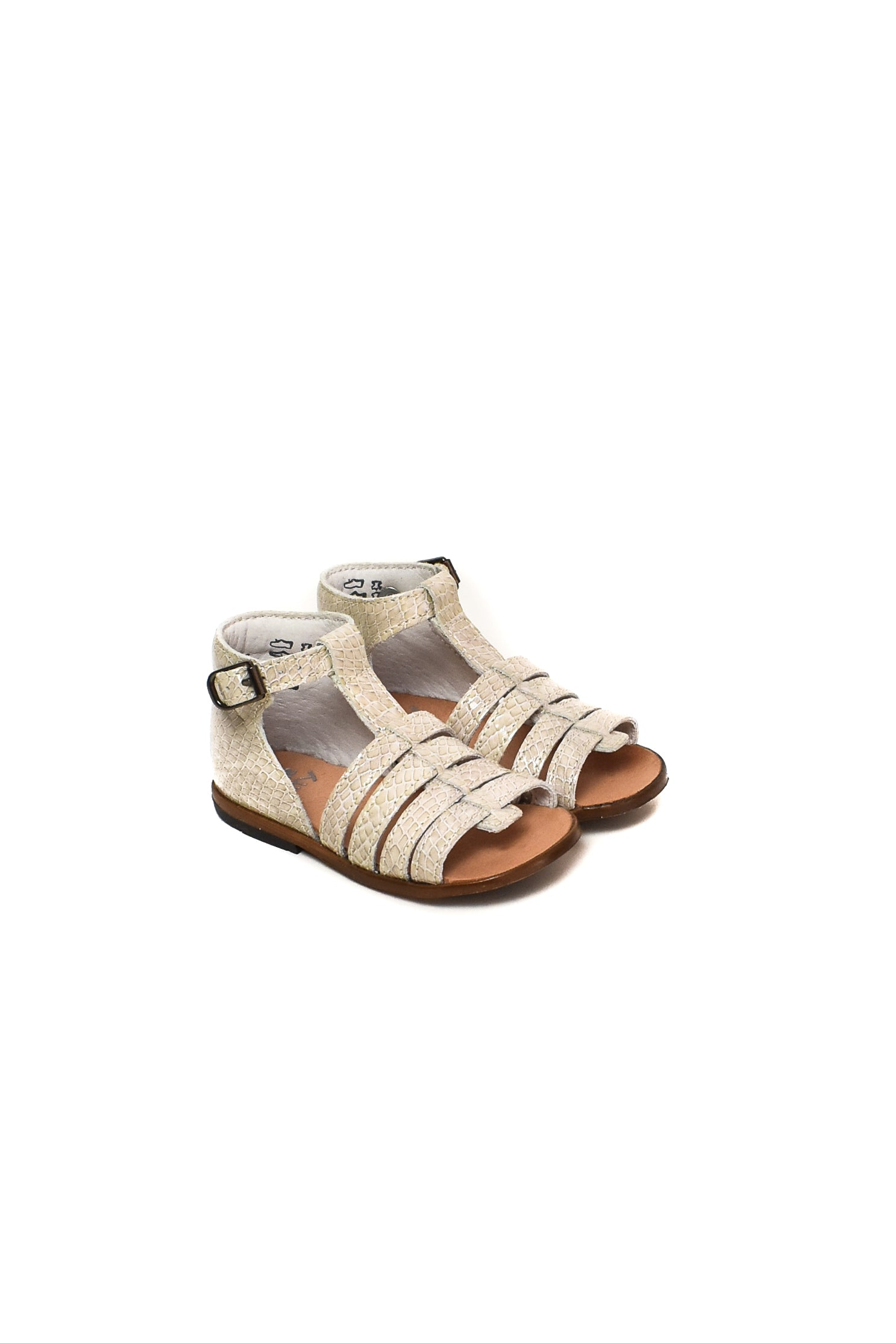 10007868 Little Mary Kids~Sandals 12M-3T (EU 20-25) at Retykle
