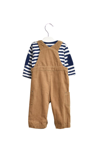 10018572 Little Me Baby~Overall Set 12M at Retykle