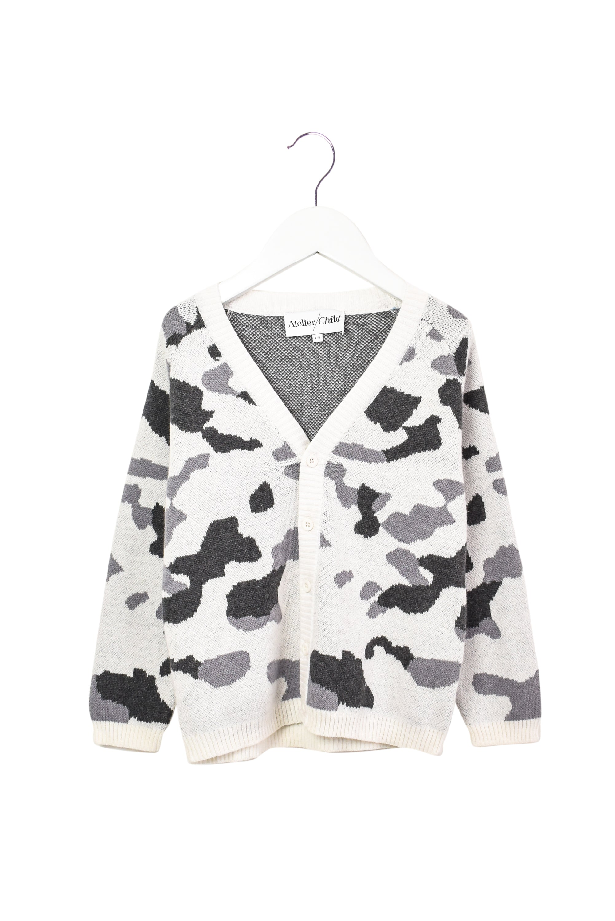 10007671 Atelier Child Kids ~ Cardigan 4-5T at Retykle