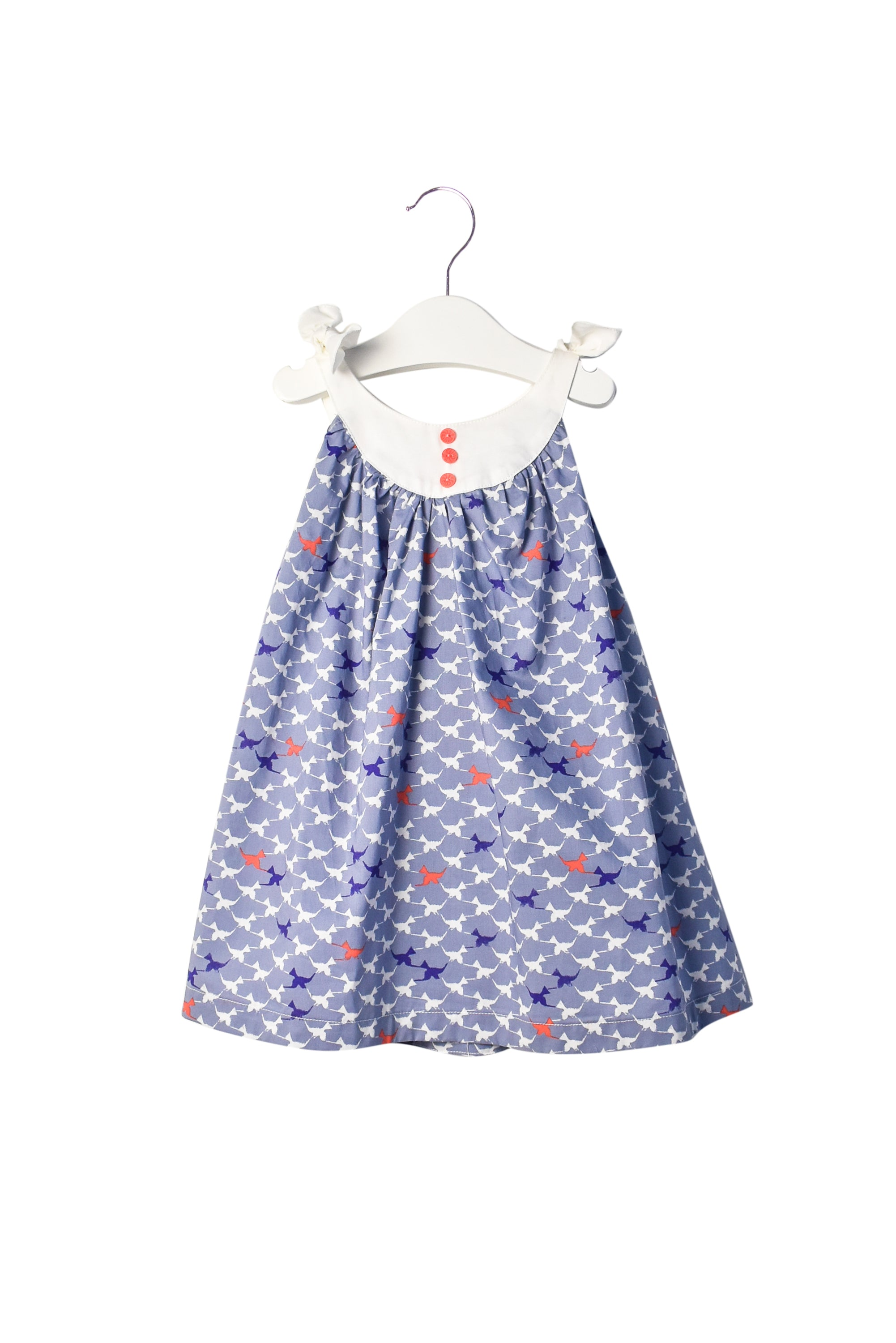 10007015 Comme Maman Collections Baby~Dress and Bloomer 6-12M at Retykle