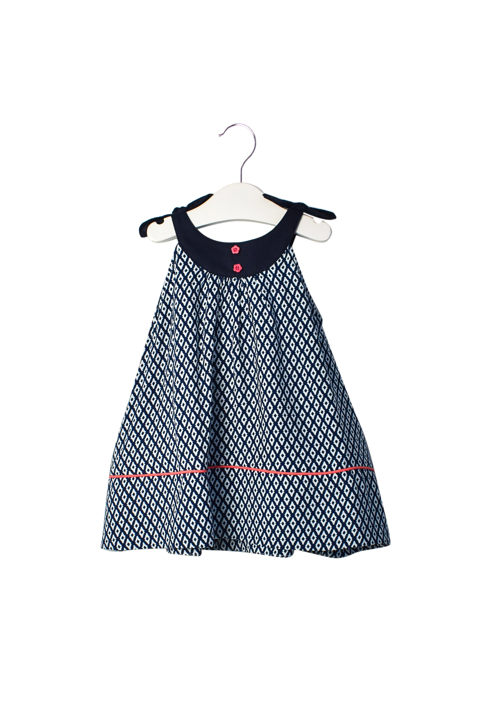 10007011Comme Maman Collections Baby~Dress and Bloomer 6-9M at Retykle