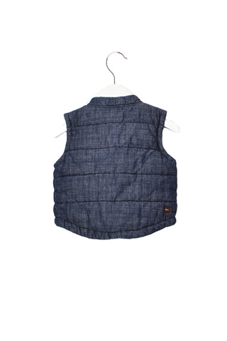 10010698 Tea Baby~ Quilted Vest 12-18M at Retykle