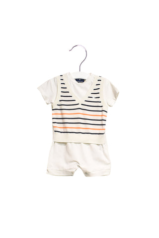 10021790 Nicholas & Bears Baby~Romper 6M at Retykle