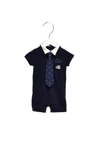 10021791 Nicholas & Bears Baby~Romper 3M (Detachable Tie) at Retykle