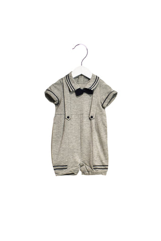 10021792 Nicholas & Bears Baby~Romper 12M (Detachable Bow Tie) at Retykle