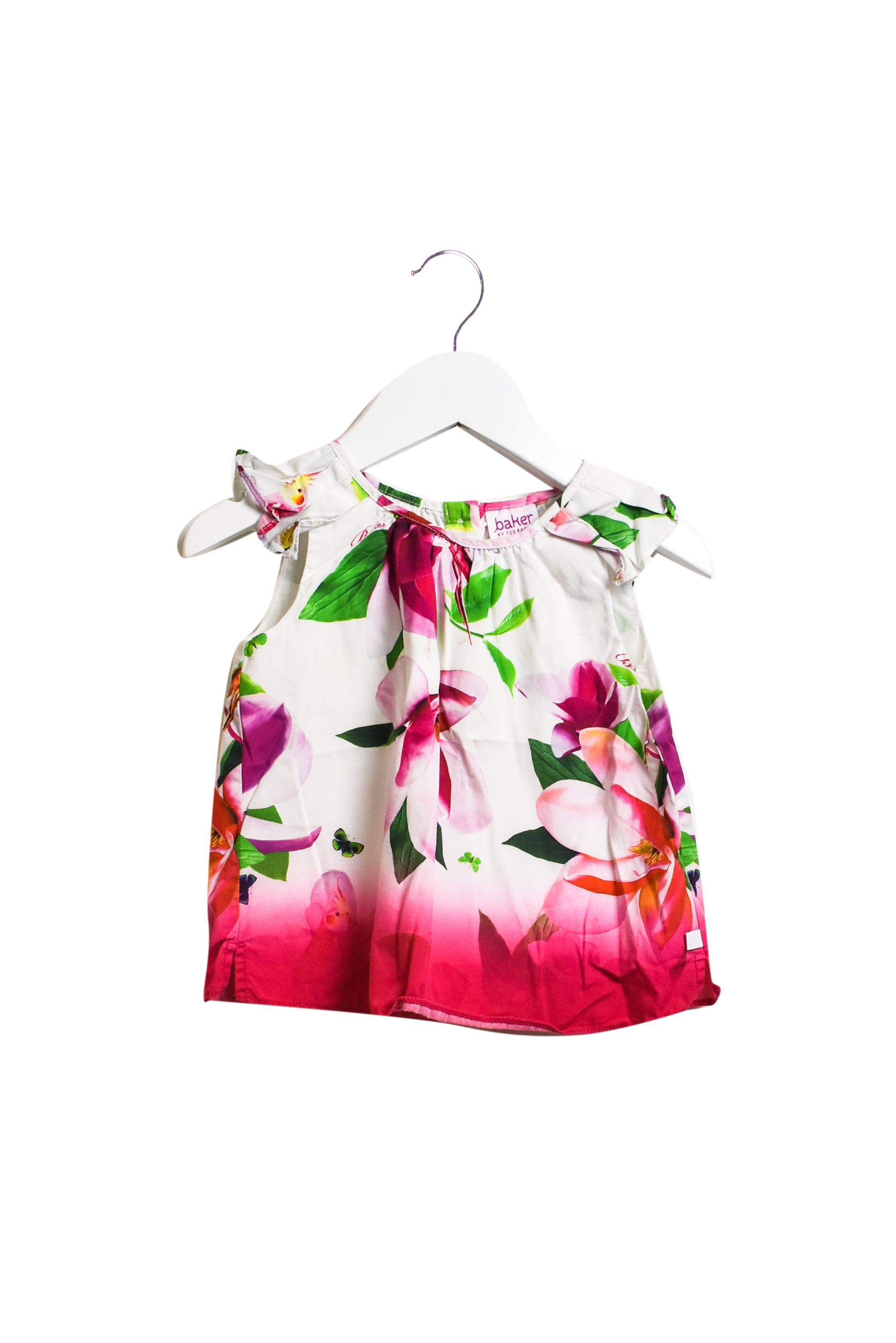 10013287 Baker by Ted Baker Baby ~ Short Sleeve Top 9-12M at Retykle