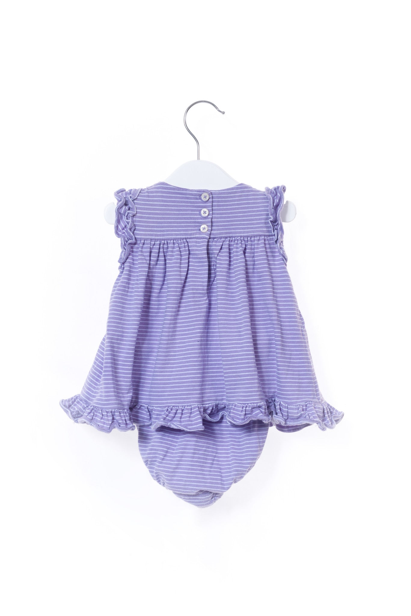 10001004 Ralph Lauren Baby~Dress and Bloomer 0-3M at Retykle