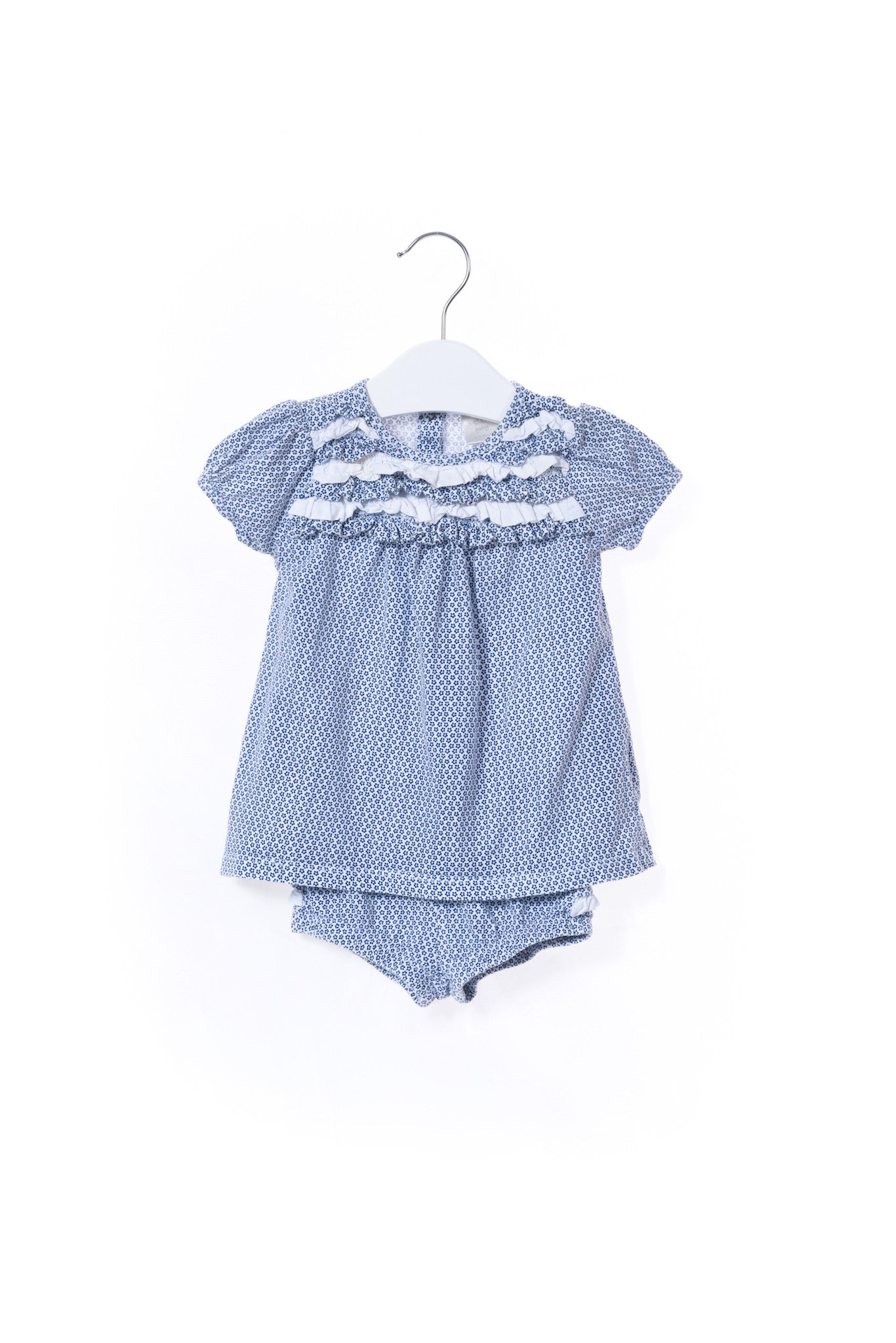 10001070 Seed Baby~Top and Bloomer 3-6M at Retykle