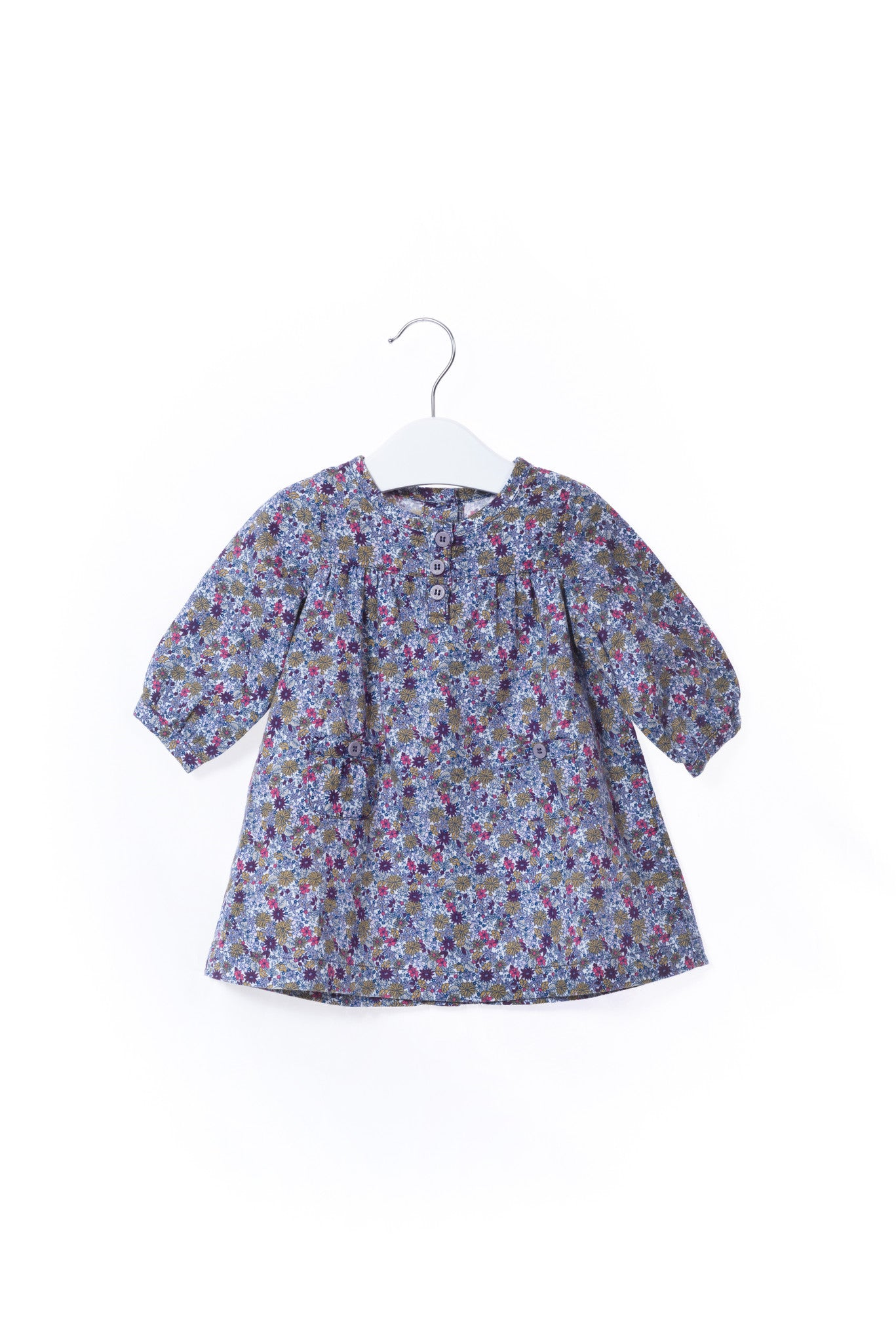 10001003 Petit Bateau Baby~Dress 0-3M at Retykle