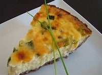 "Broccolini 9"" quiche"