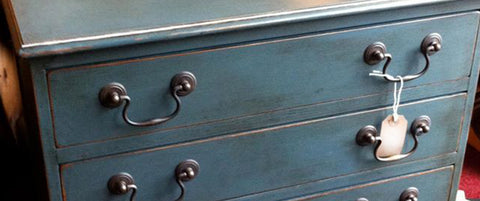 The purpose of using dark wax on painted furniture is to give the effect of  a patina, which will make your item look naturally aged and antique. - Paint Finishing Effects, Furniture Wax, Crackle Glaze, Distressed