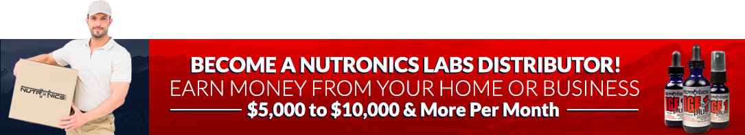 become a nutronics labs distributor banner
