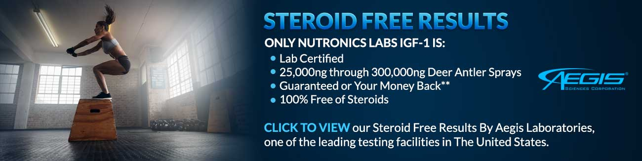 steroid free results
