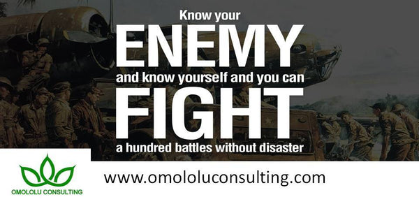 Omololu Consulting Art Of War Fro Start-Ups