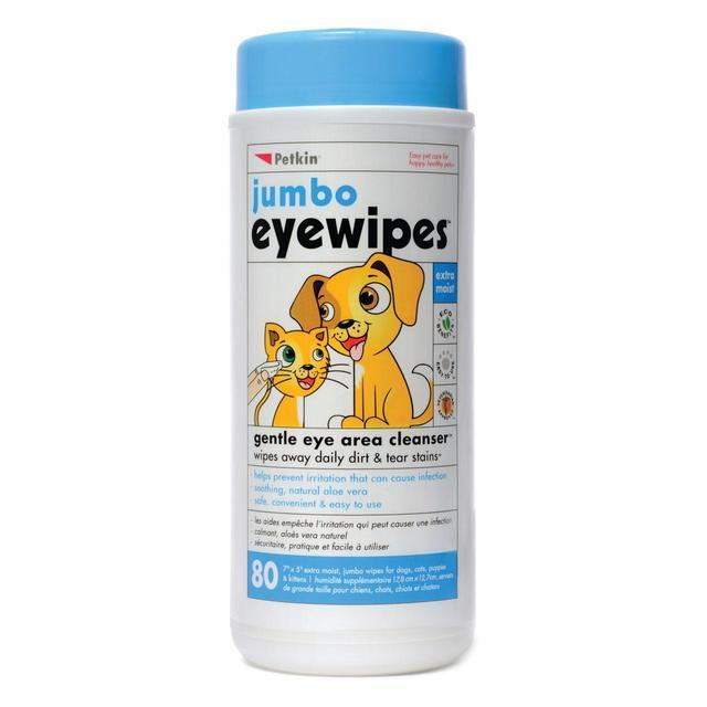 Petkin Jumbo Eye Wipes
