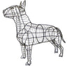 Bull Terrier Topiary Wire Frame