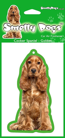 Golden Cocker Spaniel Air Freshener