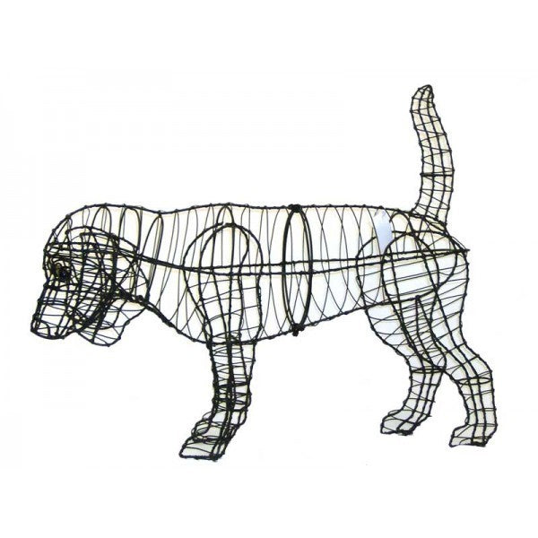 Beagle Topiary Wire Frame