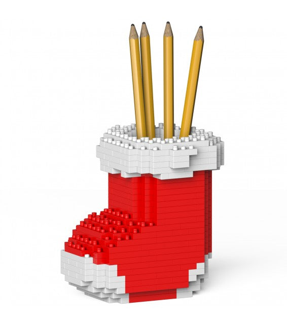 Jekca Xmas Sock Pencil Cup