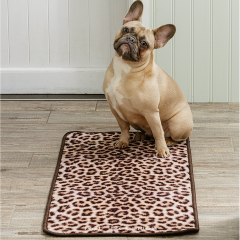 Leopard Barrier Rug