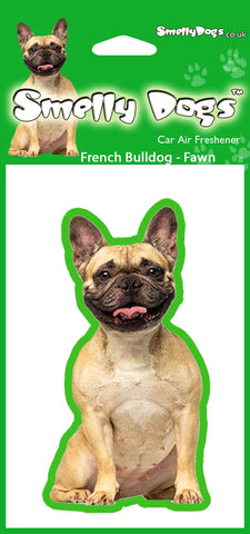 Fawn French Bulldog Air Freshener