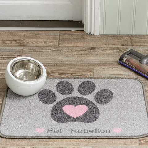 Pink Heart Food Mat