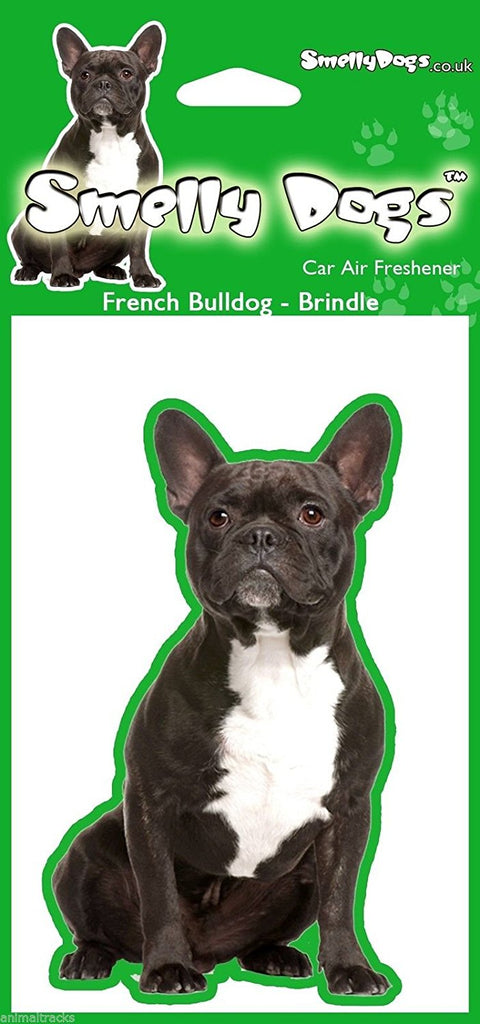 Brindle French Bulldog Air Freshener