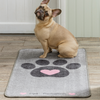 Big Paws Heart Barrier Rug