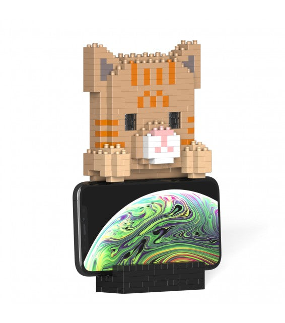 Tabby Cat Phone Stand
