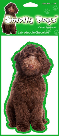 Chocolate Labradoodle Air Freshener