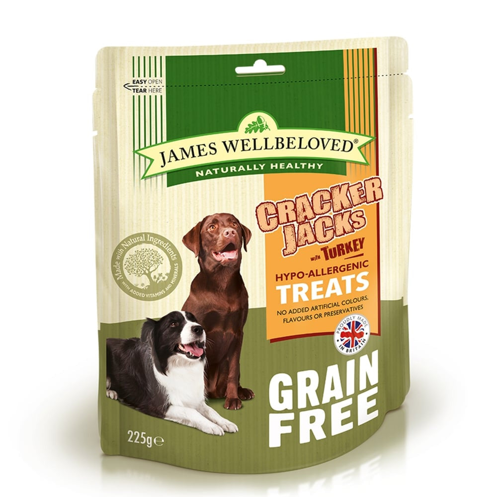 James Wellbeloved Turkey & Vegetables CrackerJacks