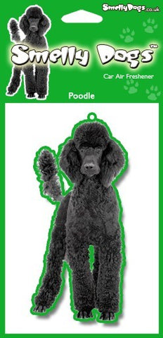 Black Poodle Air Freshener