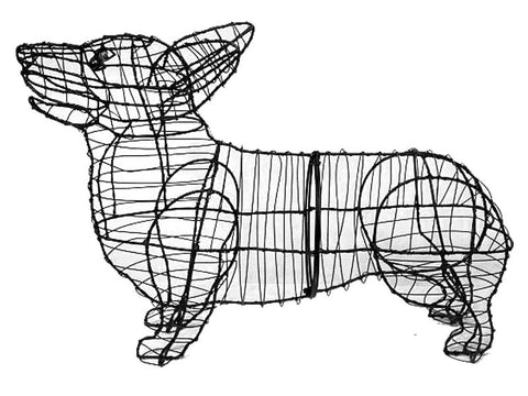 Corgi Topiary Wire Frame