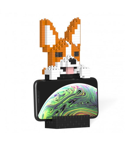 Jekca Welsh Corgi Phone Stand